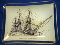 H.M.S. Victory at Portsmouth Ashtray
