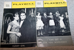 Barbra Streisand Playbills: