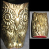 Brass owl. Our wise friend has no markings.