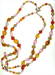 West Germany Candy Bead Necklace mini