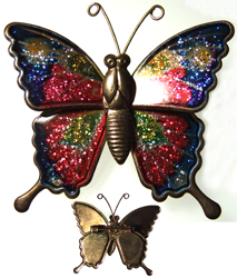 G-rooovy butterfly pin
