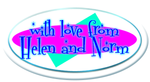 With love from Helen and Norm