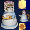 Mrs. Cat Teapot by Heritage Mint Collectibles