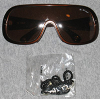 Di Lorenzo Sunglasses and Black Cord