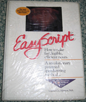 EasyScript How to Take Fast' Legible' Efficient Notes