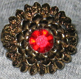 Unsigned Garnet Ring
