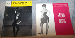 Gwen Verdon: Redhead (Playbill) and Sweet Charity (Stage Magazine)