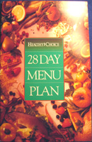 Healthy Choice 28 Day Menu Plan