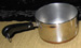 Revere Copper Clad miniature saucepan-shaped measuring cup