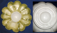 Petal-Shaped Serving Tray