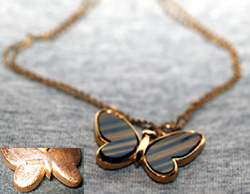 Trifari Butterfly Necklace