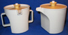 Tupperware creamer and sugar set